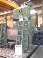 A block of Burderus BMP Thruhard Extra being machined on a Reko Bika 4000, CNC Machining Centre