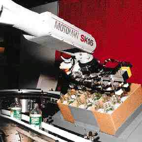 2. PackWorld systems from Motoman can make multiple picks with six-axis placement flexibility.