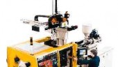 5. Husky's TE-3 robots are designed to operate with standard controls on Husky 65 to 185 ton S-Series presses.