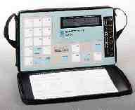 Druck Inc.'s VAX-II portable calibrator tests PLCs and control systems.