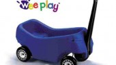 Photos from Weeplay brochures show the company is well prepared to advertise and promote its proprietary products.