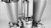 Continuous loss-in-weight multi-stream feeding, such as this K2-G SmartFlow feeding system, provides greater repeatability than batch blending and mixing, according to K-Tron America.