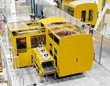 Husky Injection Molding Systems has a licensing agreement with Thixomat Inc. to be the exclusive manufacturer of Thixomolding machinery, such as this 500 tonne model, in North and South America, as well as Europe.