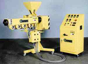For multi-layer extrusion retrofits, Wayne Machine's satellite extruder is a compact option.