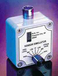 RJG's Sensor Simulator can be used forverification of data acquistion devices.