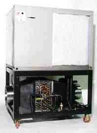 Temperature Corp.'s EC-TC chiller control system provides precise cooling for blown film systems.
