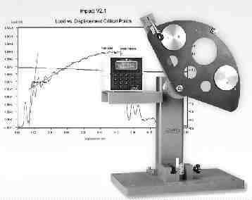 The high-speed response of Tinius Olsen's instrument impact testing systems can accurately record rapid load change events, such as brittle crack propagation.
