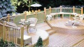 The Eon decking system is made from polystyrene-based Extrudawood profiles manufactured at CPI Plastics Group's plants in Mississauga, Ont. The decking system is being sold through independent lumber chains, as well as large retail outlets such as Home Depot.