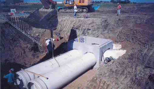 IPEX has recently begun manufacturing 48 in. diameter PVC pipe at its Edmonton, Alta. facility. The pipe is the largest diameter PVC pipe in the world and is being used for water transport.