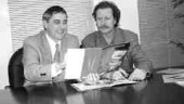 Larry Pascucci (left), and Willy Hauer