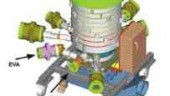 The seven-layer AMT MacroPack coextrusion die from Macro Engineering produces nylon-PvdC barrier film.