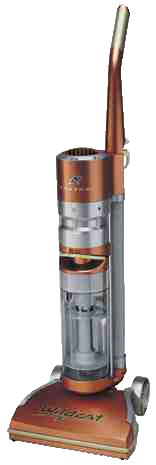 A trend to copper and other metallic finishes for consumer items is evident in Fantom Technologies' choice of colors for the WILDCAT line of vacuums.