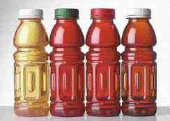 Hot-fill PET bottles from Amcor PET Technologies.