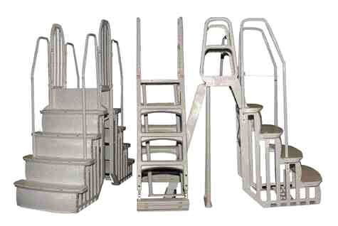Horizon Plastics molds the snap-fit Easy-Entry ladder system.