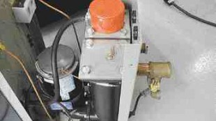 Stainless steel flanges and brass cooling valve piping are examples of the corrosion-resistant components in the new option package available on Conair TW Series Thermolator temperature control units.