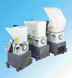 Screenless, low-speed granulatorHamilton Avtec has introduced quiet, low-speed beside-the-press granulators, the AH Vectra Series. These machines use two double-edged jaw cutters to break up the sprues and parts. This pre-sizing allows the coarse feed to be pelletized by toothed rollers. Rotor speed is 25 to 30 rpm. The AH Vectra granulators have a clamshell, tilt-back hopper design, and permit no-tools access for cleaning.Hamilton Avtec Inc. 905-568-1133
