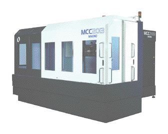 Makino's new MCC2013 horizontal machining centre is said to be much more efficient for machining large molds.