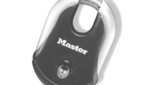 7. Master Lock's new line of keyed padlocks for consumer use has a stainless steel body, rubberized overmolding and a co-injection molded ABS bumper. Design Continuum 617-928-9501