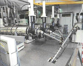 Davis-Standard says it has manufactured one of the world's largest, most advanced cast film lines for making pallet stretch wrap film. The line has been purchased by a company in Spain.