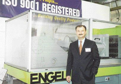 An expansion at Engel's Guelph facility will provide more space for customer training and the development of new technology, including the company's new WaterMelt injection molding technology, says executive vice president Walter Jungwirth.