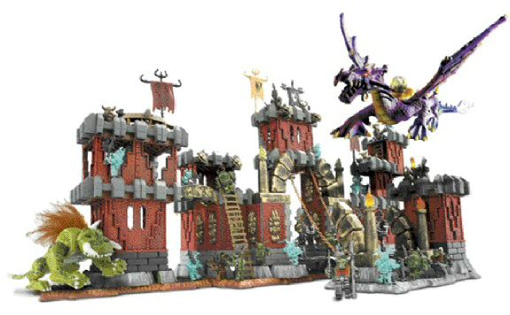 The Dragons line has been a hot seller for Montreal-based Mega Bloks.