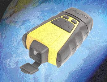 The housing of Navitrak's handheld global positioning satellite receiver is made of two PC/PET injection molded shells overmolded with black Santoprene TPV. The TPV also creates a watertight seal.
