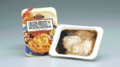 The retort tray solution from Cryovac provides food packagers a means to deliver fully-cooked meals to consumers.