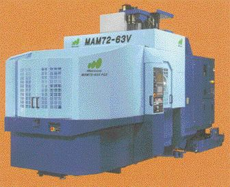 """Elliot Matsuura's MAM.72 vertical machining centers have spindle speeds up to 30,000 rpm and can store up to several hundred tools for """"lights out"""" CNC machining."""