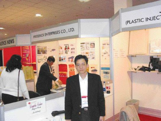 """""""We can build a complete mold in 10 days,"""" says S.Y. Tang of his Chinese moldmaking and injection molding company Jetcrown Industrial."""