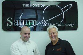 The new team: Rafael Castillo, president of Dual Spiral Systems (left), and Robert Krycki, president of Future Design.