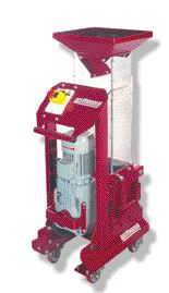 Wittmann's Minor 2 screenless granulator is suitable for longer sized sprues or small parts.