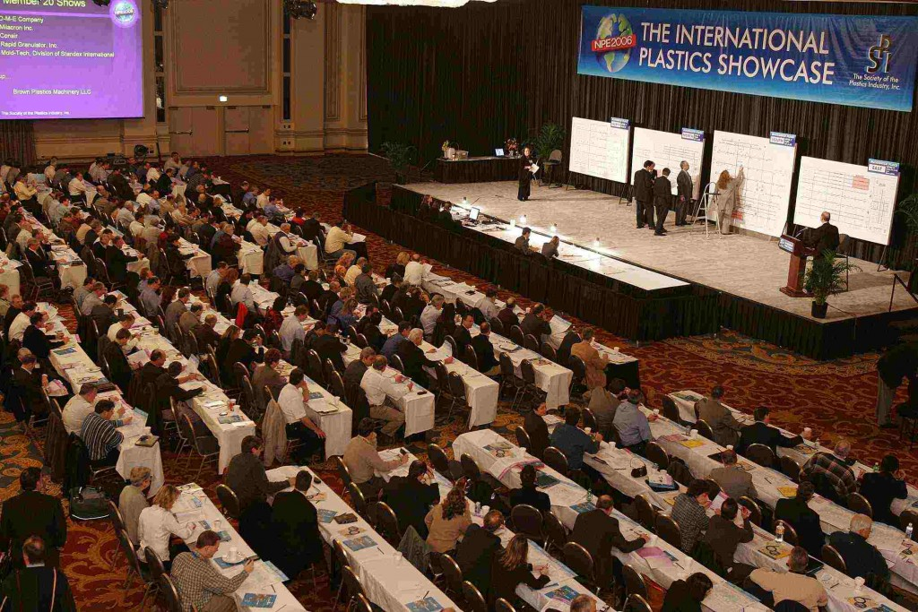 A record amount of exhibitor floor space was taken by companies outside the U.S. at last week's NPE space draw held in Chicago