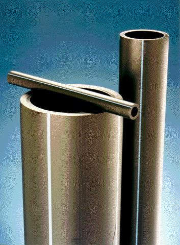 Today's extrusion technology can produce a wide range of pipe sizes and styles, widening the market possibilities for plastic pipes.Photo Credit: Battenfeld