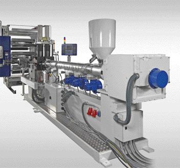 High speed sheet extrusion for PS and PP