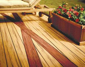 """In an effort to capture the wood """"purists,"""" Trex Company's Brasilia line of WPC decking is designed to mimic the look of tropical hardwoods."""