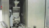 Hosokawa's new clean room granulator, which comes with a sound attenuating cabinet, is completely mobile for easier maintenance.Courtesy of: Hosokawa Polymer Systems