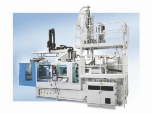 Krauss Maffei has developed a new concept that cuts cycle times in the production of molded parts with integrated vibration damping, by linking injection molding with extrusion and reaction processing in a single manufacturing cell.