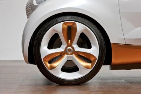 Smart Car with BASF's Ultramid nylon 6/6.