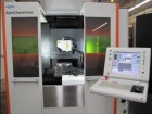 The five-axis laser ablation machine.
