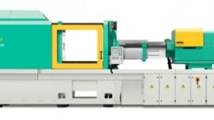 Arburg's 820A all-electric unit.