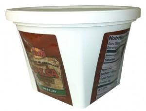 IPL's salsa container.