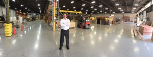 Graham Engineering CEO David Schroeder in the York, Pa. facility.