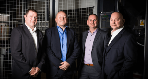Omega Group's new directors. From left:  Julian Jamieson, Dave Crone, Gary Powner and Alan Franklin.