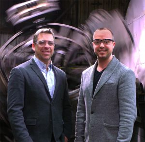 From left: Rotoplast's Sébastien Daudelin and Mathieu Arsenault.