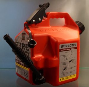 SureCan's blow molded gasoline can.