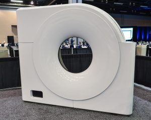 Productive Plastics' cover for an MRI medical scanning device.