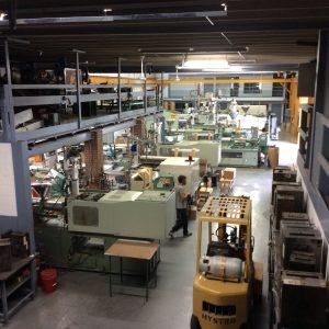 A sea of machinery.