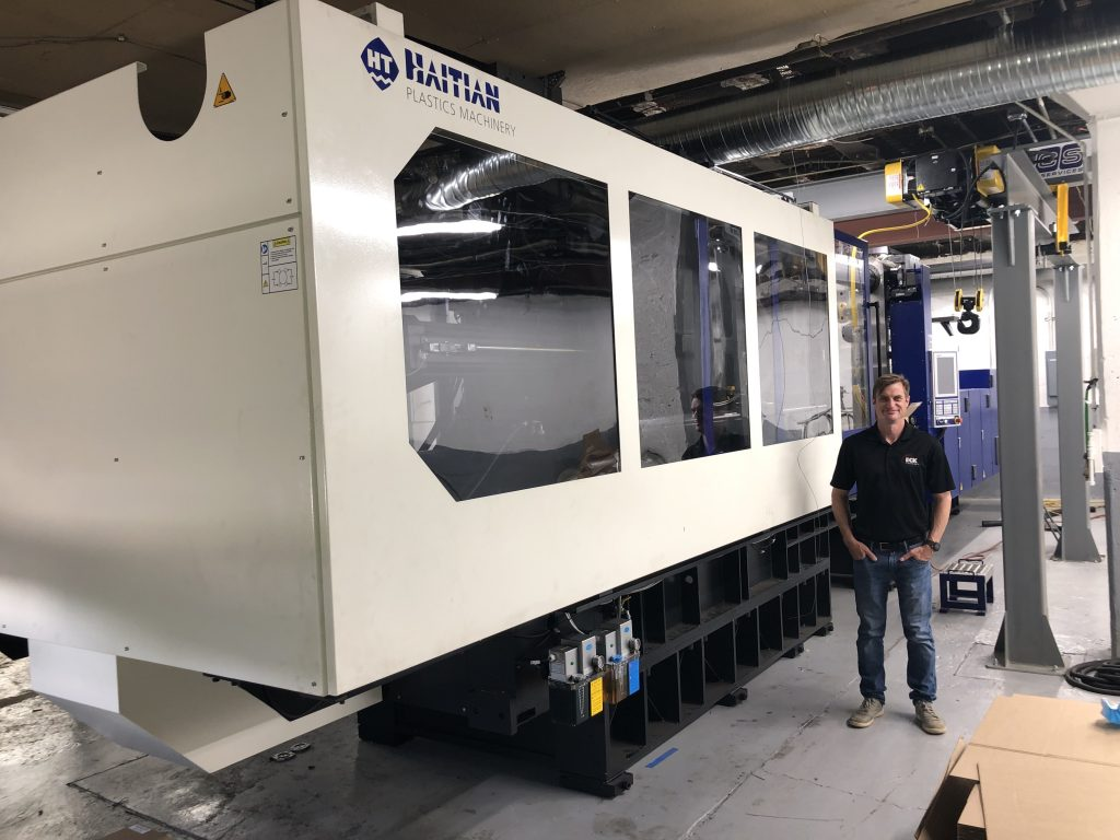 New York molder adds large-tonnage capability with new Haitian press
