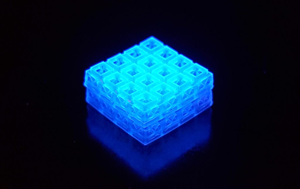 Lego-inspired 3D-printed bricks can heal bone and soft tissue