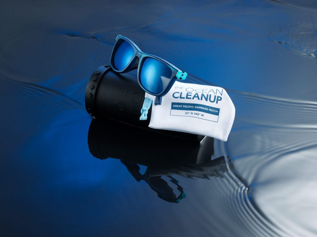 New sunglasses made from certified ocean plastic